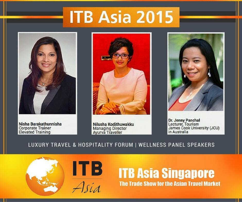 ITB Asia Singapore 2015 - Nisha